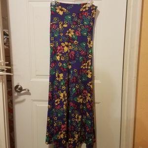 Lularoe medium floral maxi dress